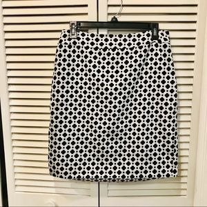 Cynthia Rowley Black & White Pencil skirt